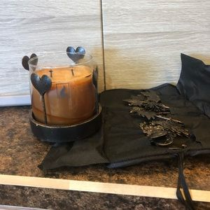 Changing Seasons candle holder